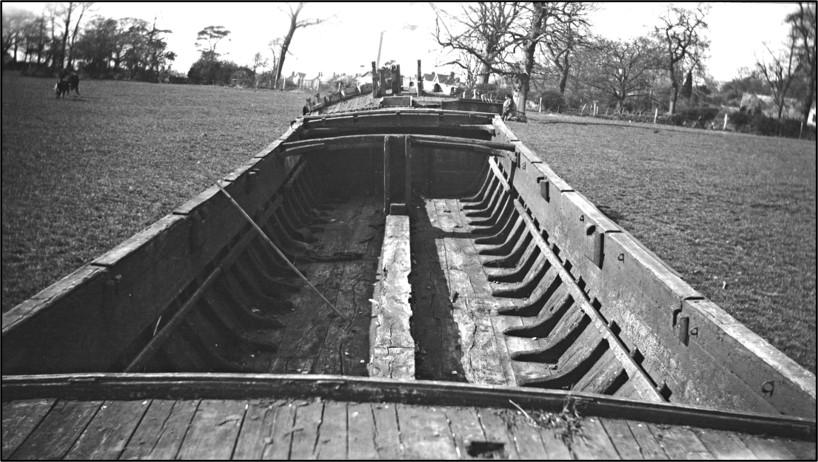 April 1936 onboard Perseverance looking forward.