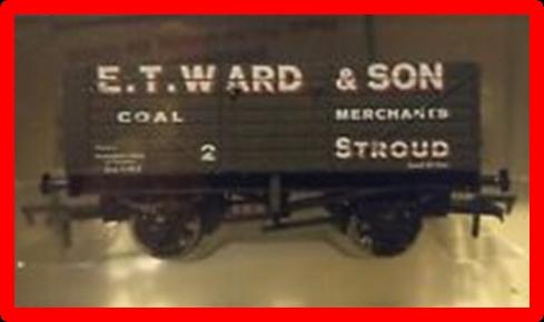 Model of E T Ward coal truck